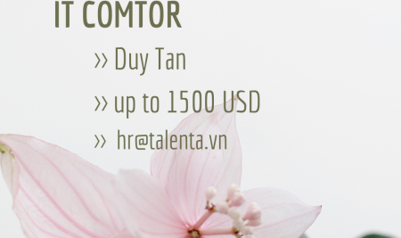 [Duy Tan, Cau Giay] IT COMTOR
